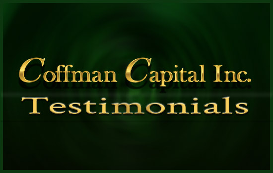 Coffman Capital Testimonial Image